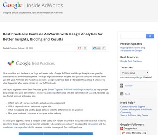 Google Adwords blogspot