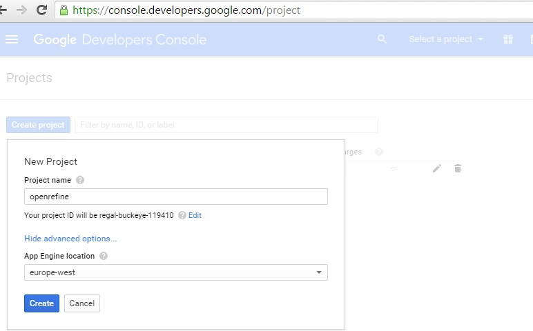 Console developer google